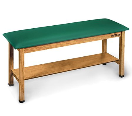 Hausmann Physical Therapy Table With Shelf 78x30x31h Model A9024