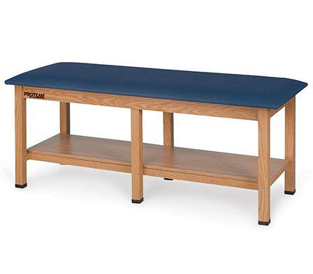 Hausmann Physical Therapy Tbl 6 Legs Oak 78x30x31h Model A9087